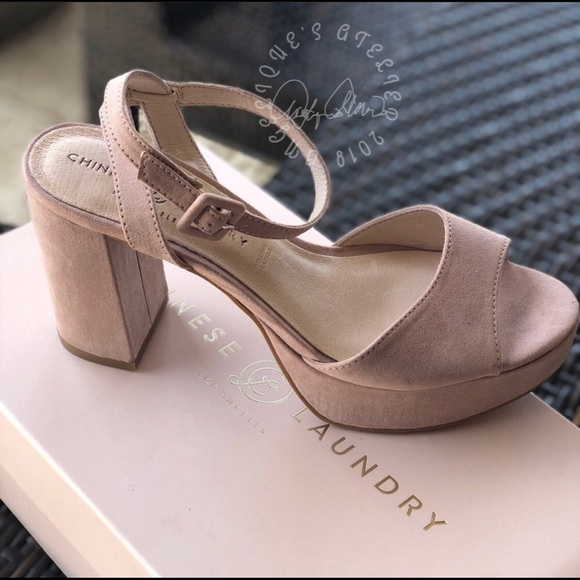fb53d5c2e04 Chinese Laundry Theresa Platform heels Boutique